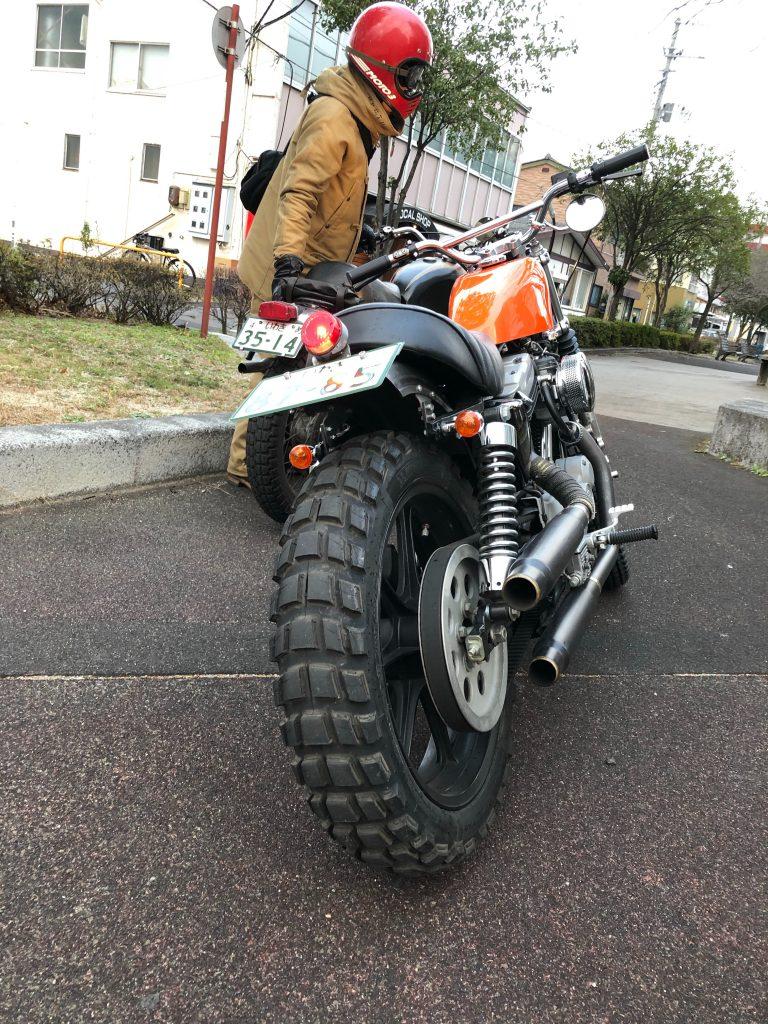 Harley-Davidson Sportster ローカルショップ
