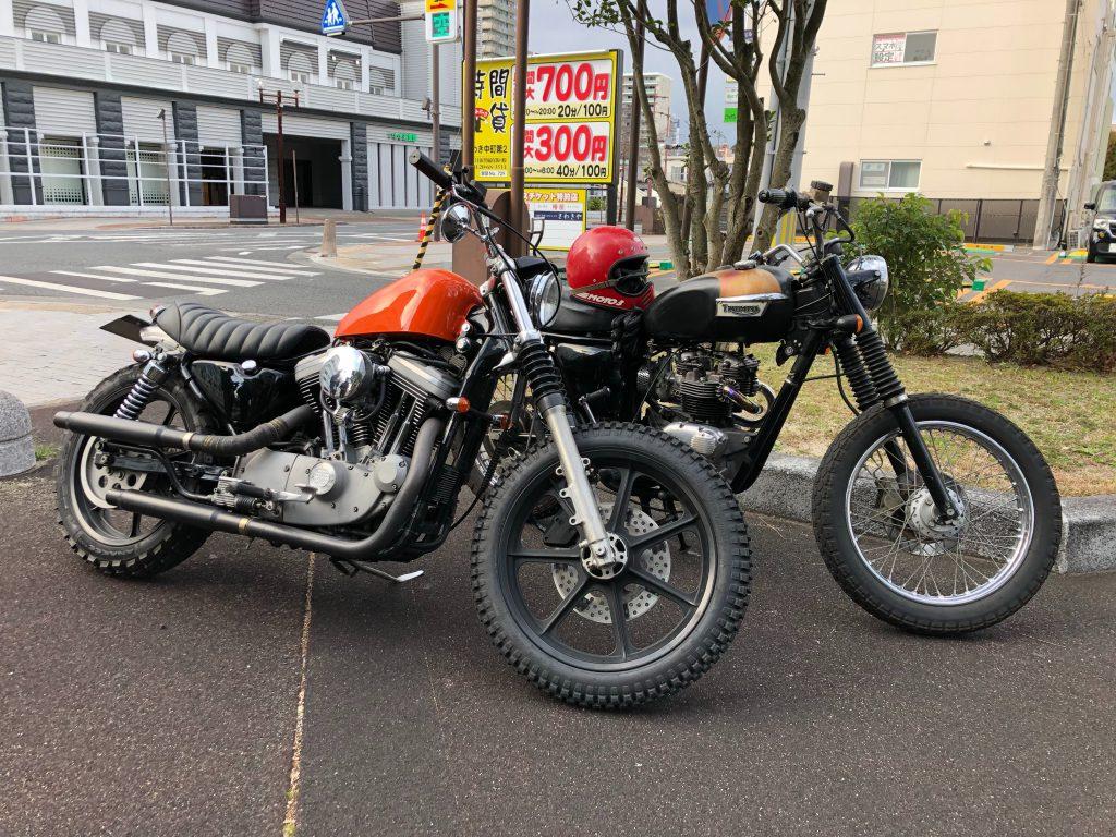 localshop Harley-Davidson Sportster Triumph